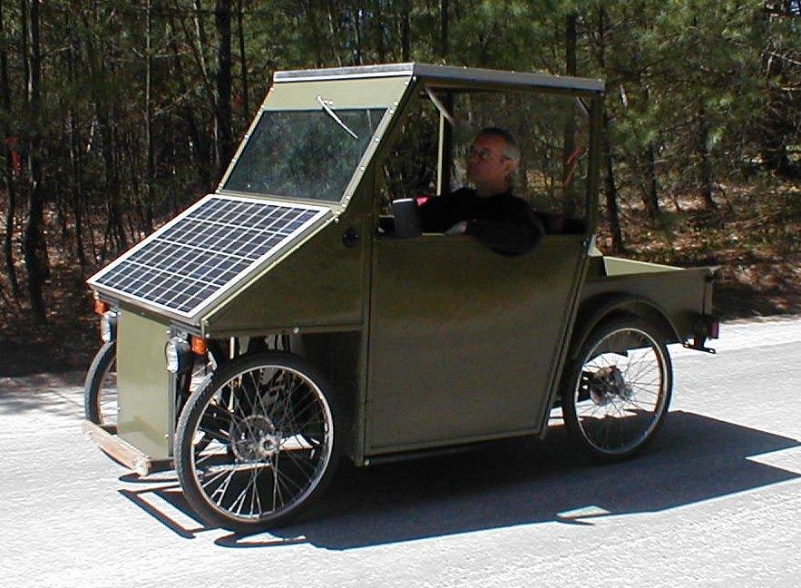 Sunn Solar Electric Kit Car Vehicle